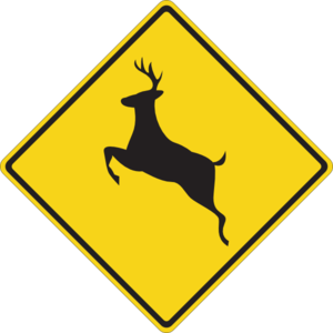 Deer Crossing Sign.svg.med