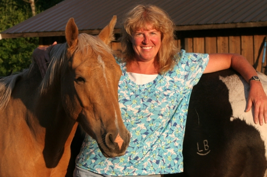 bio shot with horses