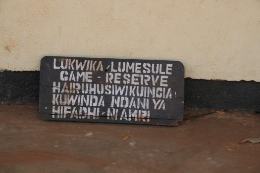 Lukwika-Lumesule Game Reserve, Tanzania