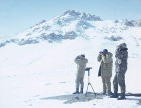 Pamir Argali Survey_2002 surveying