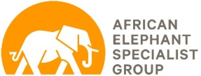 African Elephant Specialist Group Logo
