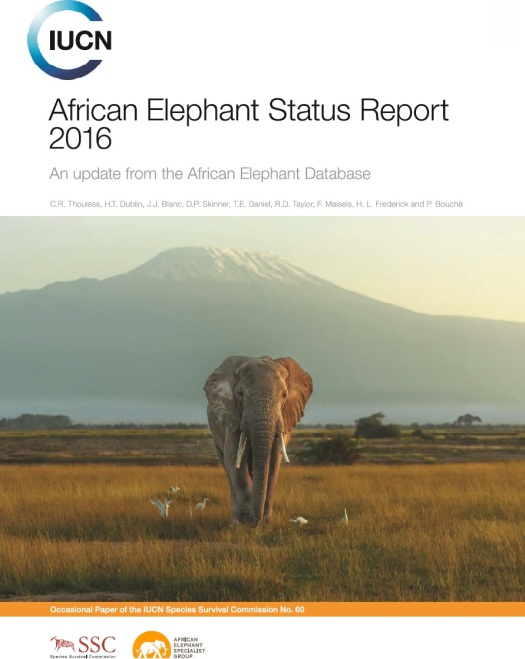 African Elephant Status Report 2016 Cover