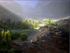 Tablas Hoeck. Savnob Village. Gorno Badakhshan Autonomous Oblast. Pamir. Tajikistan