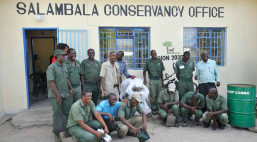 Salambala Game Guards-NACSO-WWF in Namibia 2015