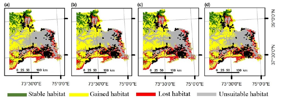 Tajikistan Habitat Distribution Figure 4