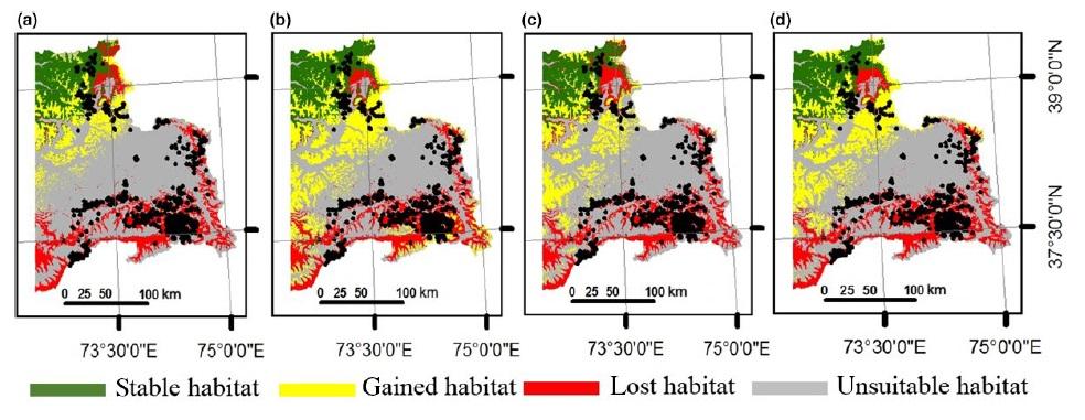 Tajikistan Habitat Distribution Figure 5