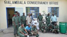 Salambala Game Guards-NACSO-WWF in Namibia 2015